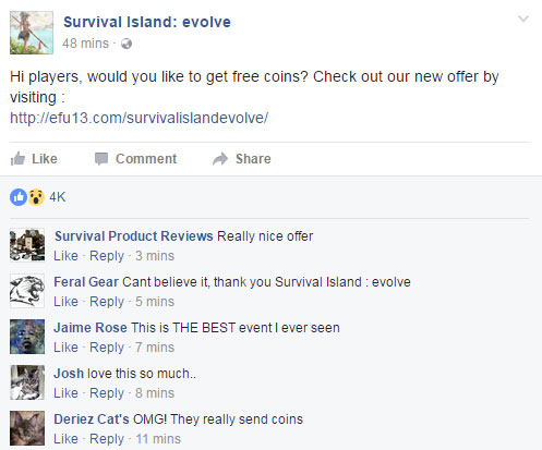 Survival Island Evolve Generator Proof