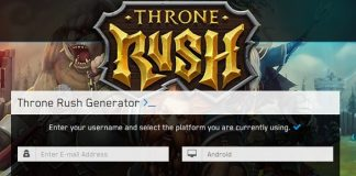 Throne Rush Gems Cheat