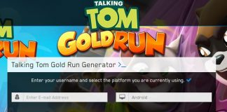 Talking Tom Gold Run Generator