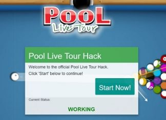 pool live tour coins hack