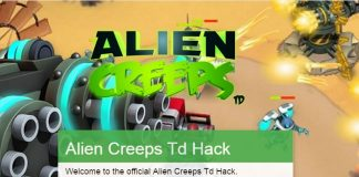Alien Creeps TD Cheats