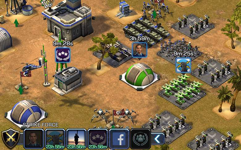 Empires and Allies Gameplay