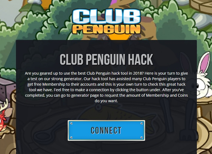 club penguin hack